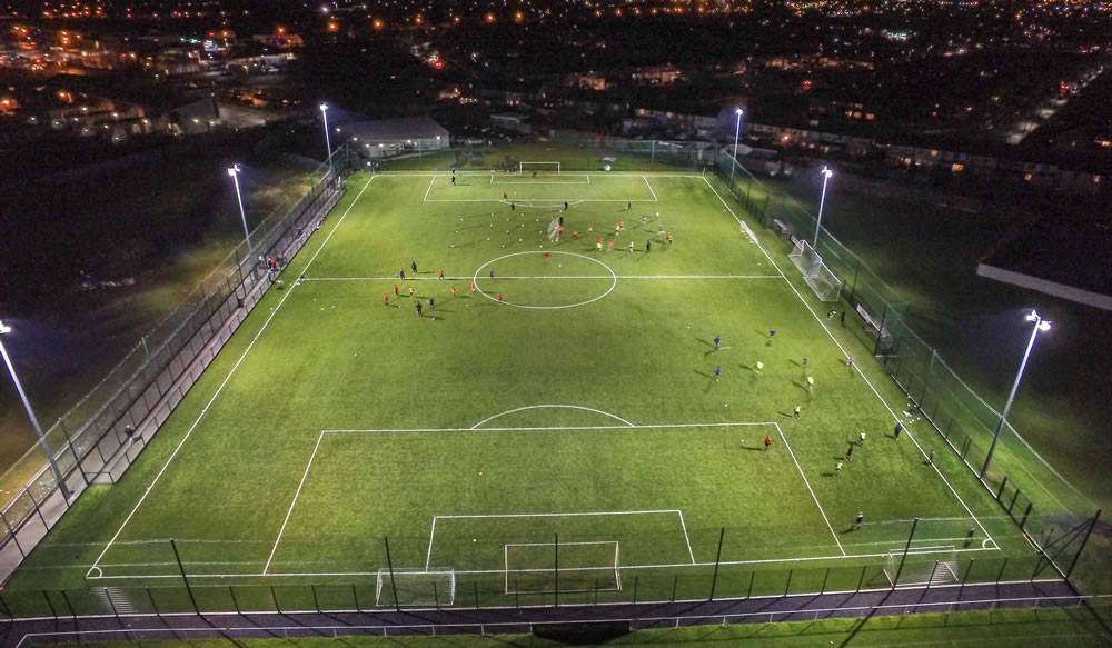 Cherry Orchard FC artificial turf pitch