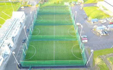 LeisureWorld astro turf pitch project