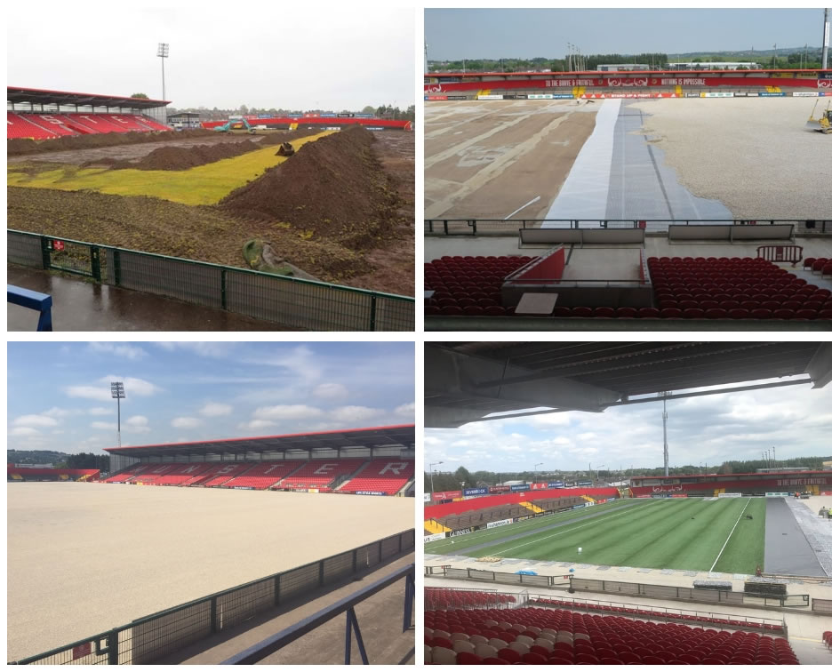 Musgrave Park - pitch installation project