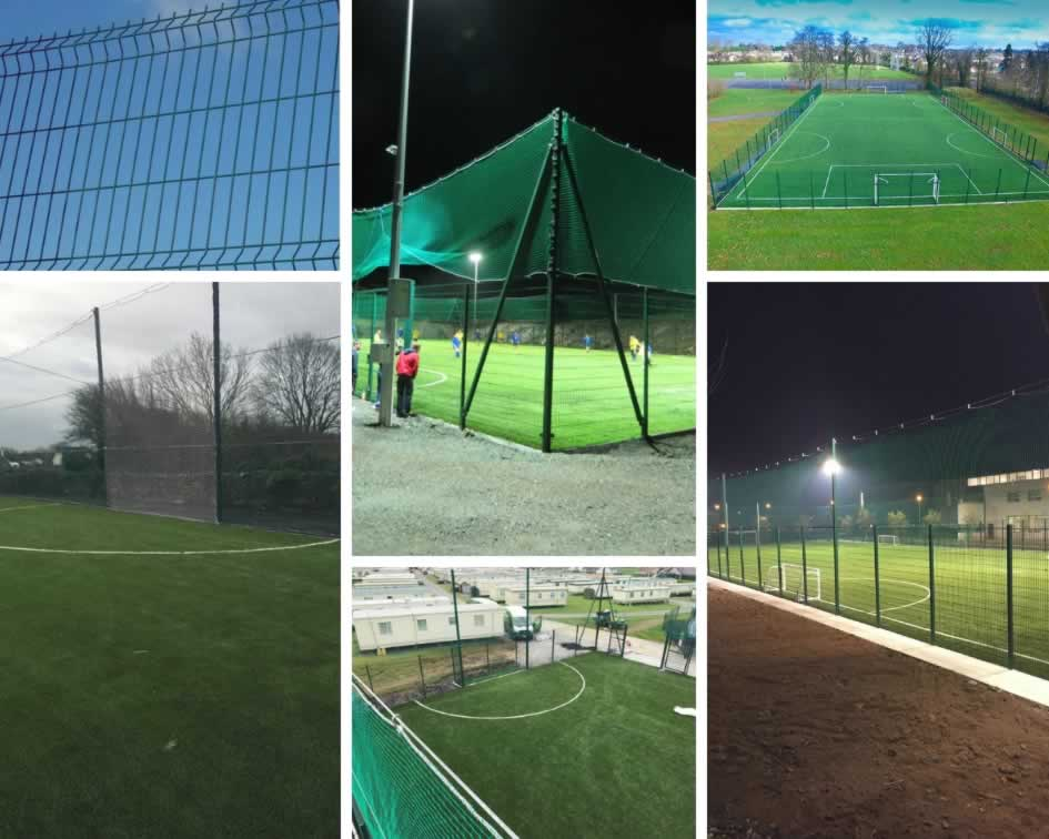 PST Sport fencing and netting options