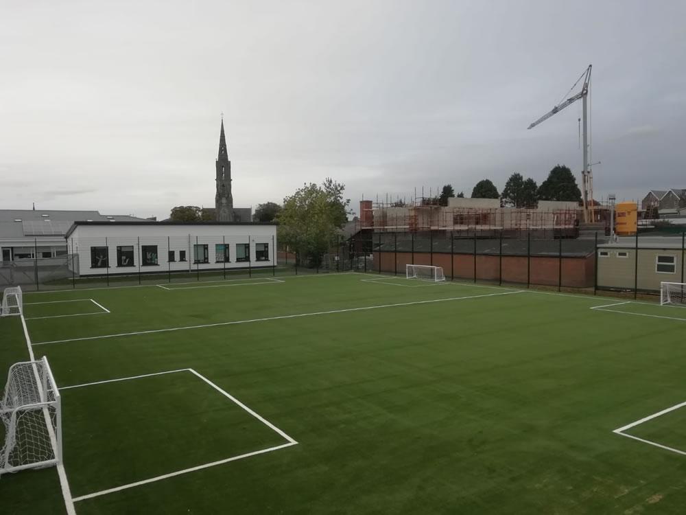 St Marys National School Trim artificial grass pitch