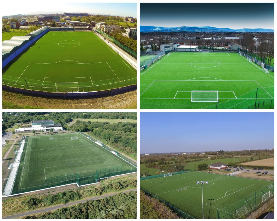 artificial grass football fields