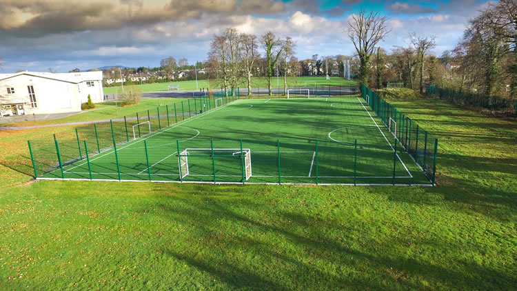 artificial grass pitch at st mels college
