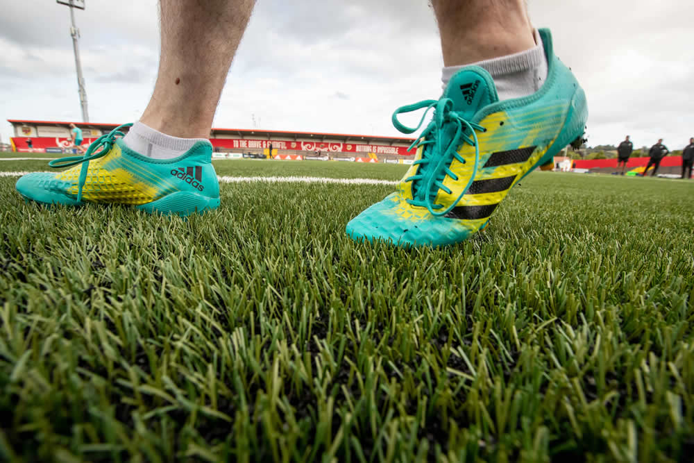 artificial turf pitch at Irish Independent Park