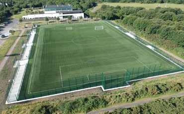 astro turf pitch at Cappagh Park Galway