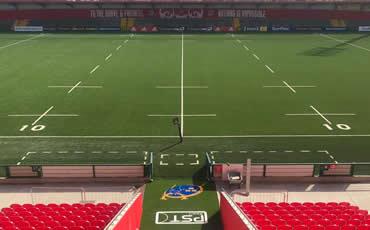 astro turf pitch at Irish Independent Park