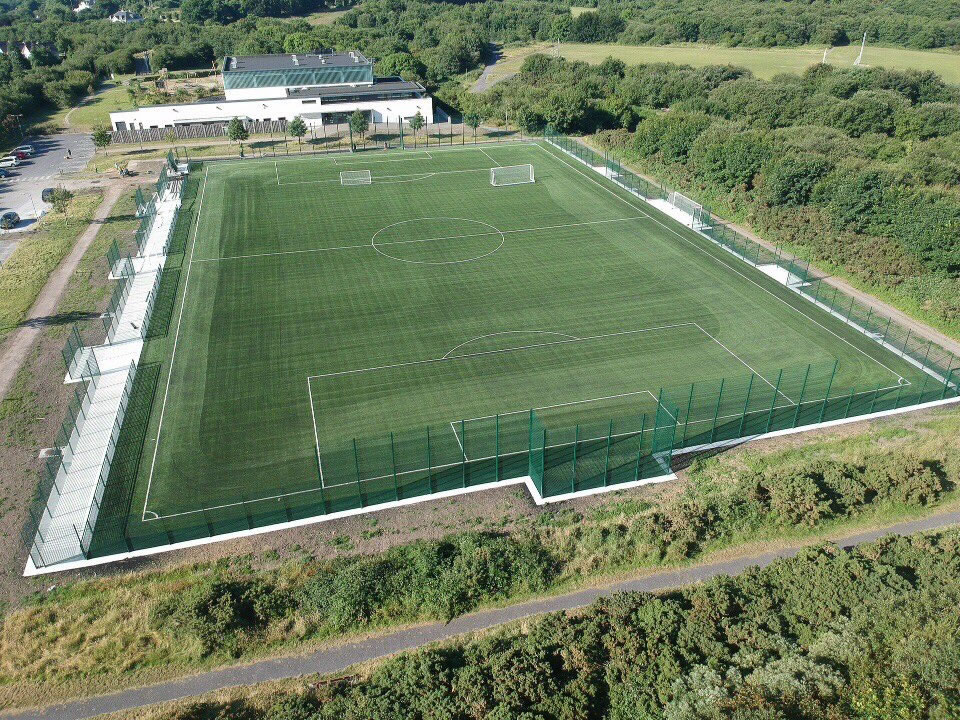 artificial turf pitch at Cappagh Park