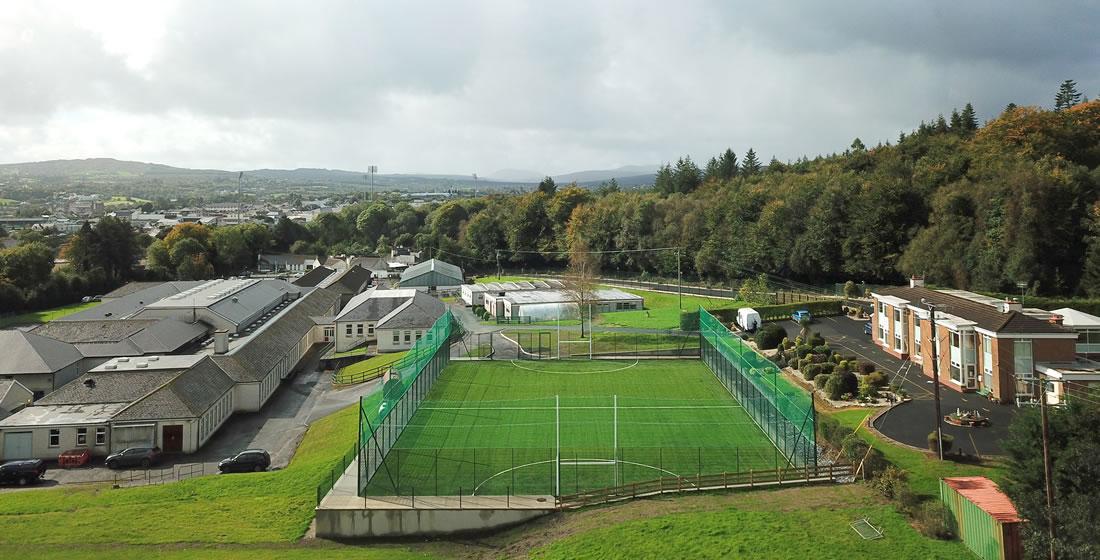 St columbas college 3G pitch