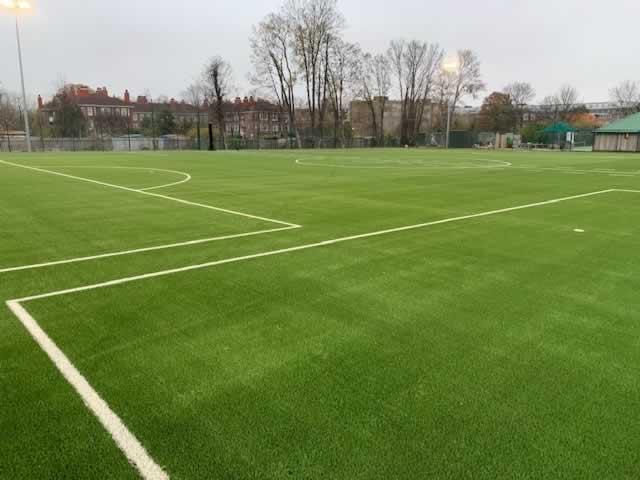 Superb 45 pitch at Club Des Sports