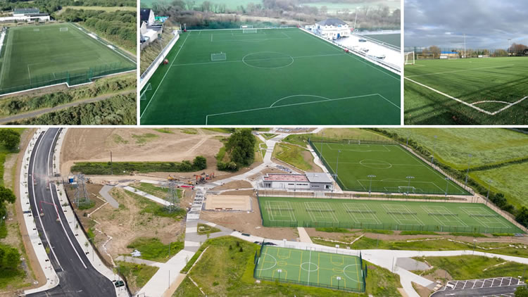 2018 artificial grass pitch projects