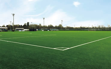 Astro turf pitch at Chelsea FC