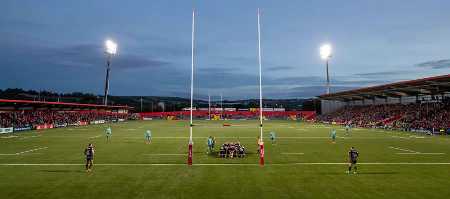 artificial grass rugby surface Irish Independent Park