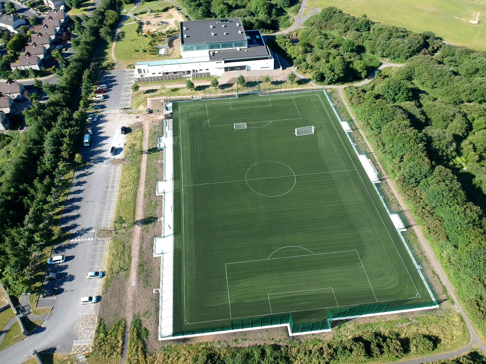 artificial grass pitch at Cappagh Park Galway