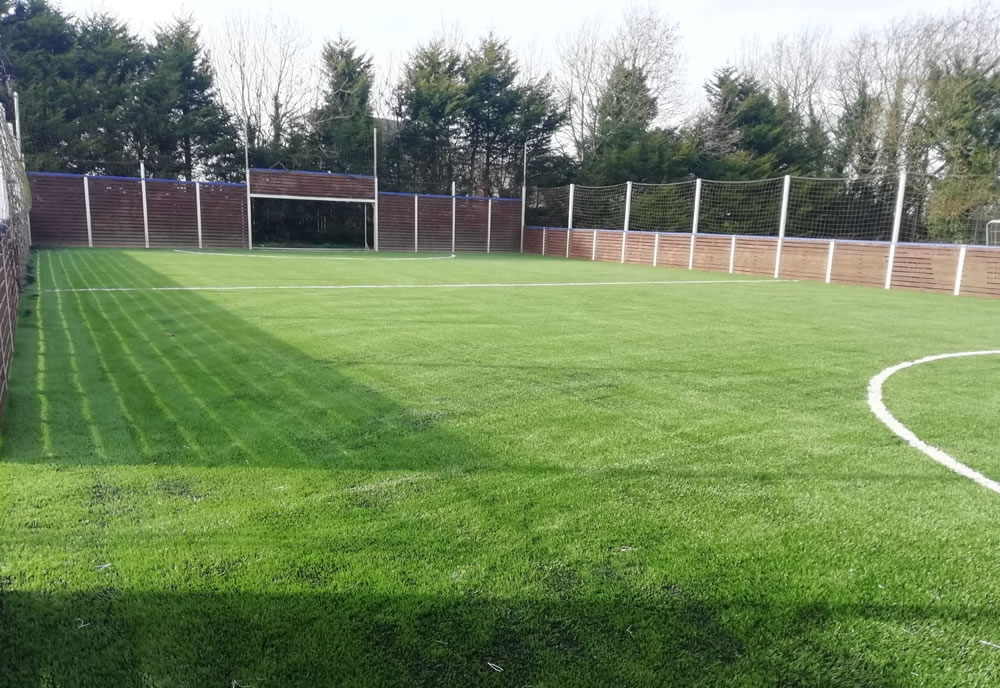 Artificial grass pitch in Mohill for Leitrim County Council