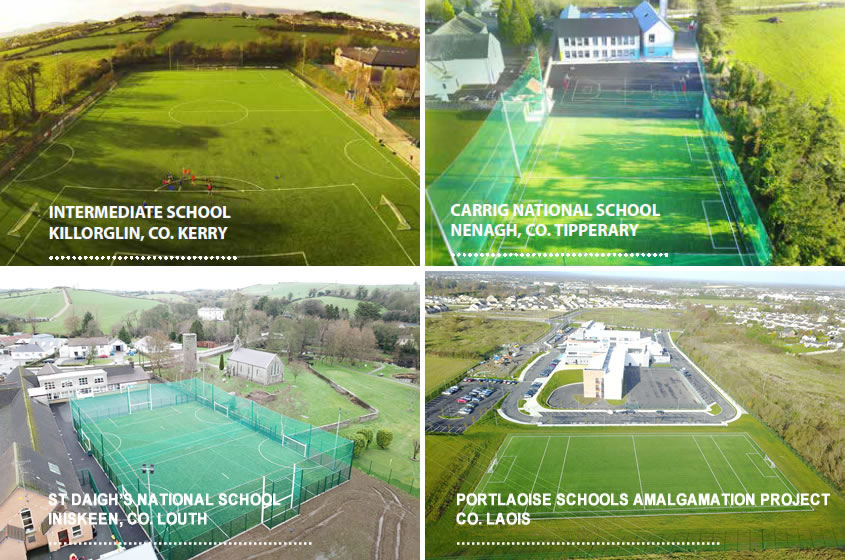 Schools artificial grass pitches
