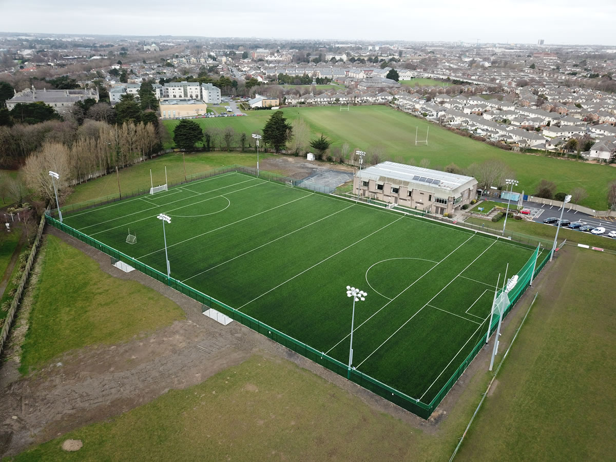 synthetic turf gaa pitch