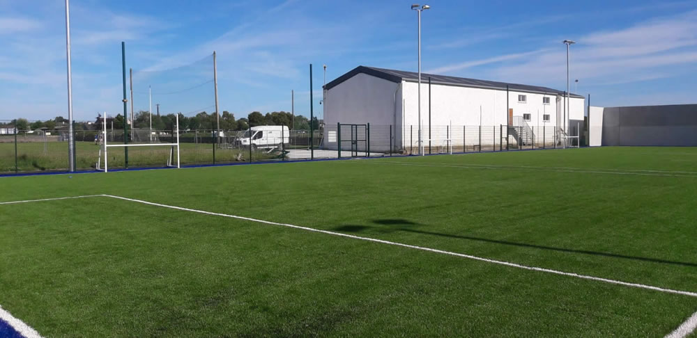 Boherlahan Dualla artificial turf GAA pitch