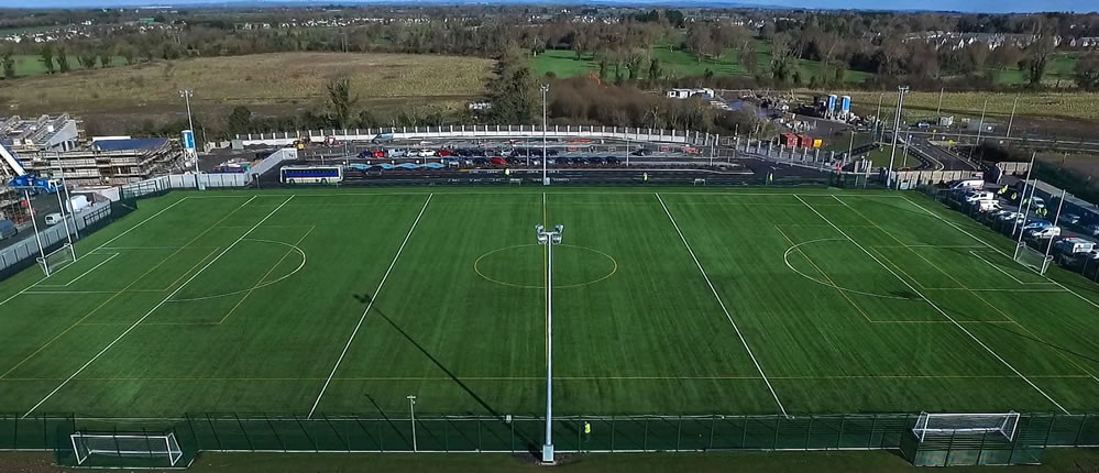 Le Cheile artificial turf GAA pitch