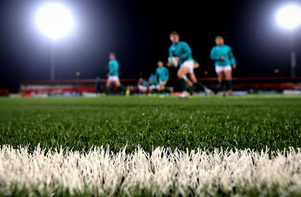 Munster Rugby grass turf pitch