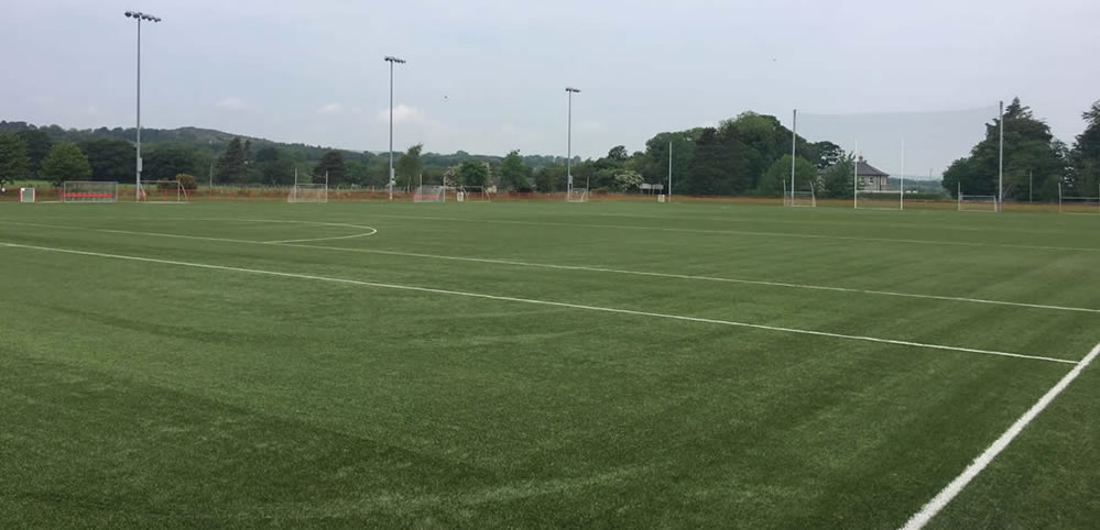 owenbeg artificial gaa pitch derry