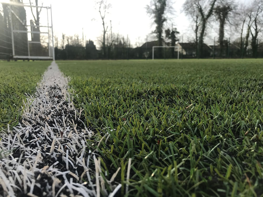 artificial grass maintenance at st mels college