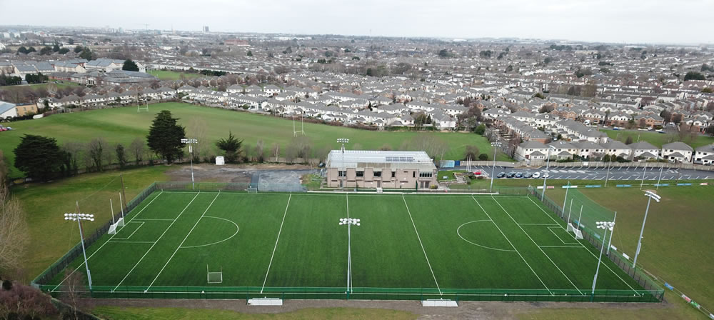 st vincents artificial turf gaa pitch