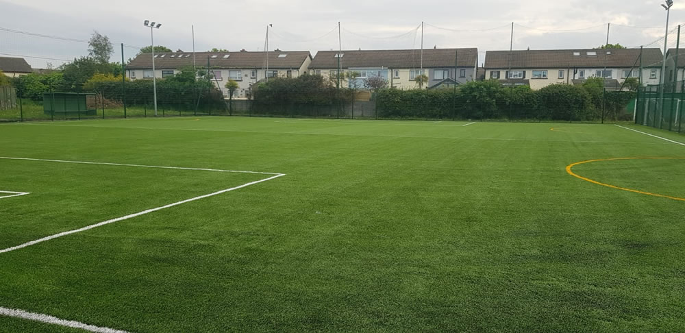 Baldoyle United pitch resurface
