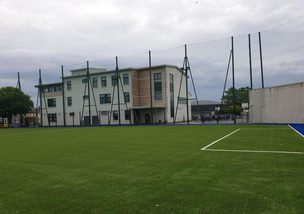 Gaelscoil Bharra pitch, Cabra, Dublin 7