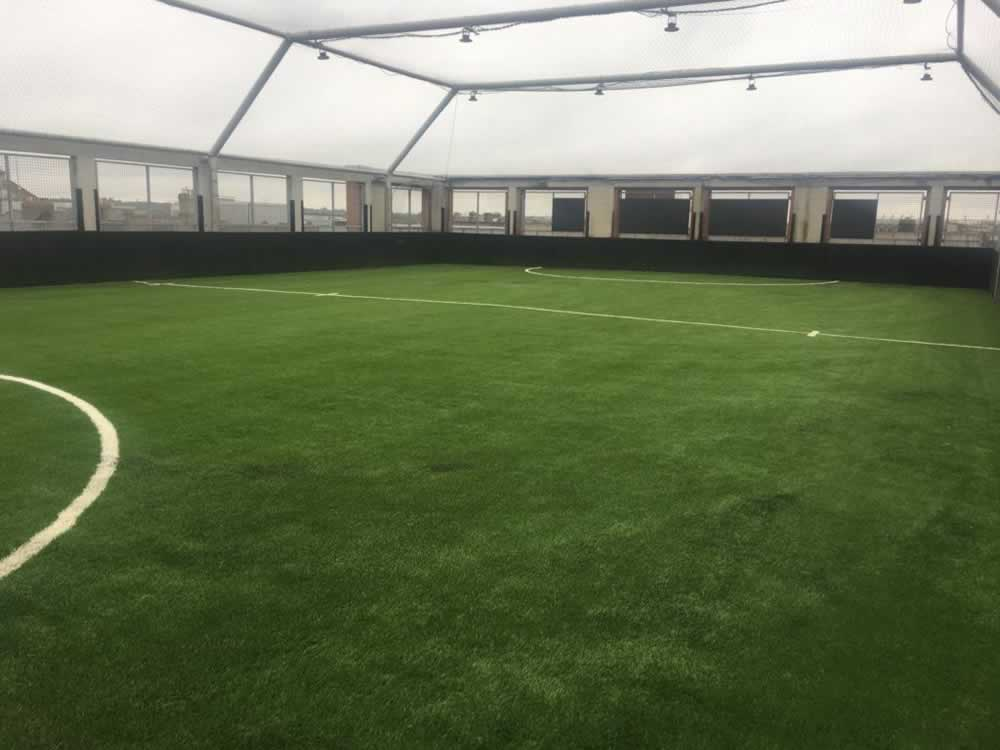 Belvedere College rooftop all-weather pitch