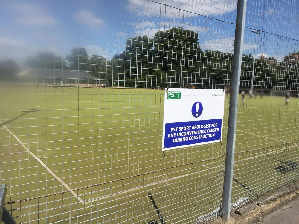 Gravesham hockey pitch resurface