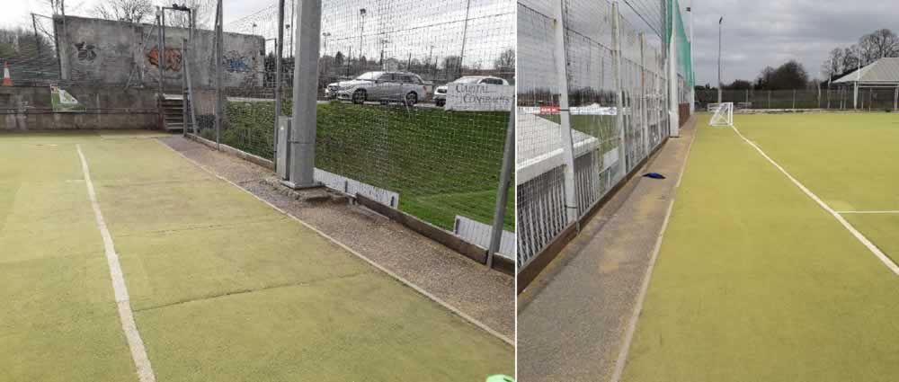 Gravesham Sports Trust synthetic hockey pitch