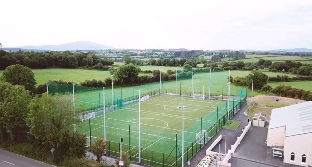 Rathgormack community artificial grass multi-sport pitch