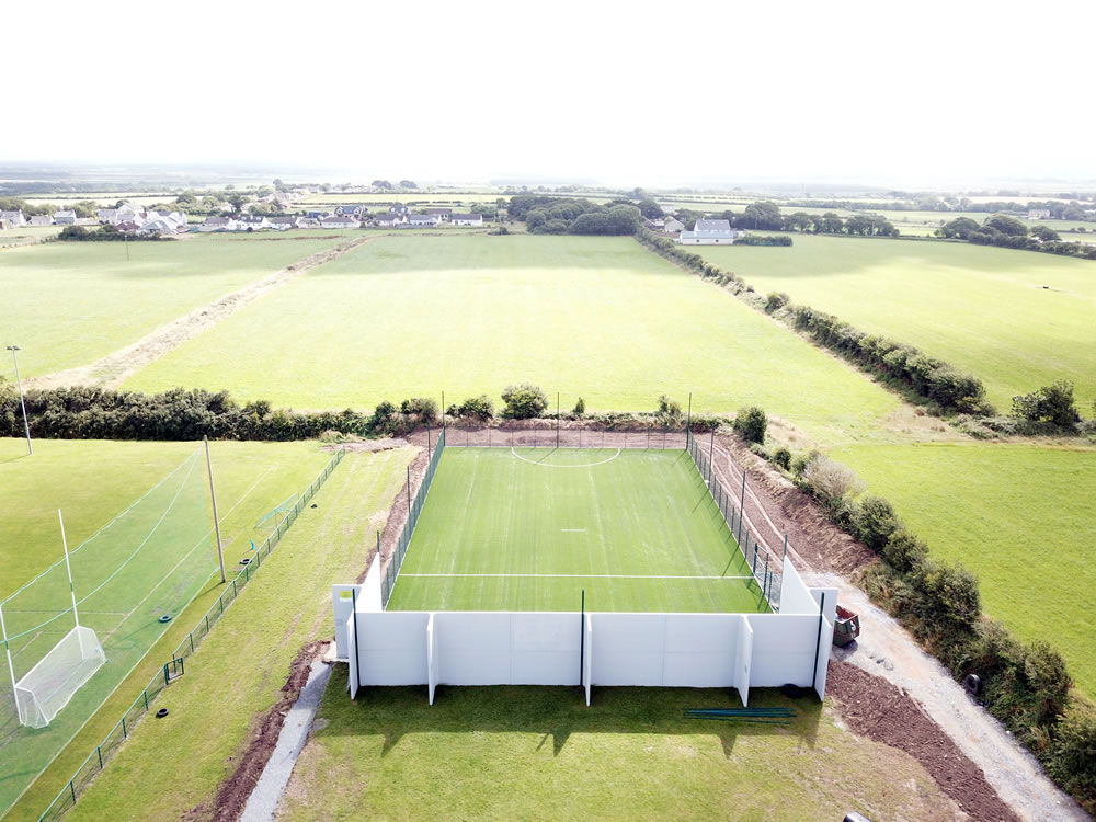 Ballyduff-gaa all-weather training pitch