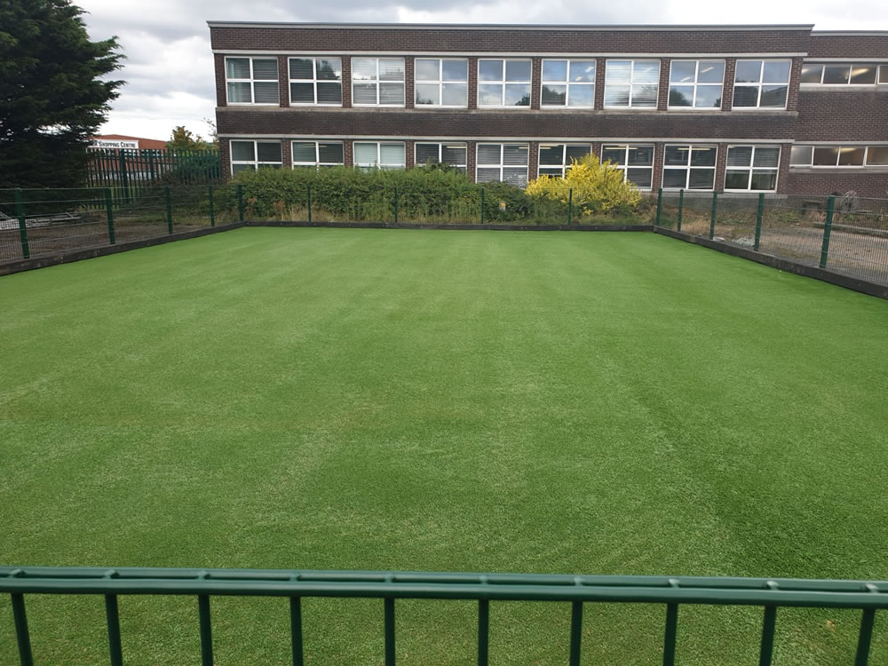 Ardscoil La Salle artificial grass multi-sport pitch