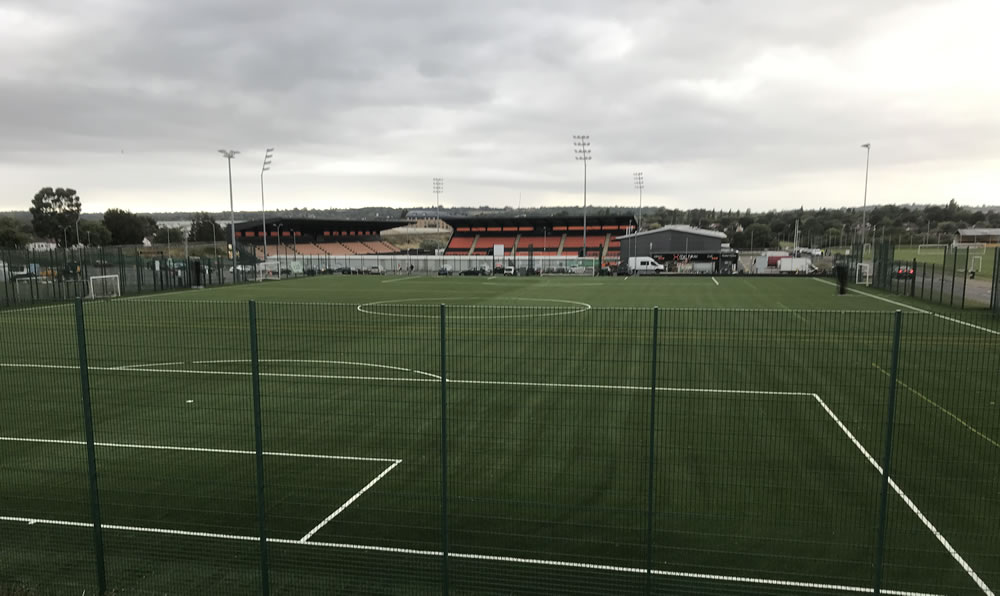 Barnet FC pitch development project