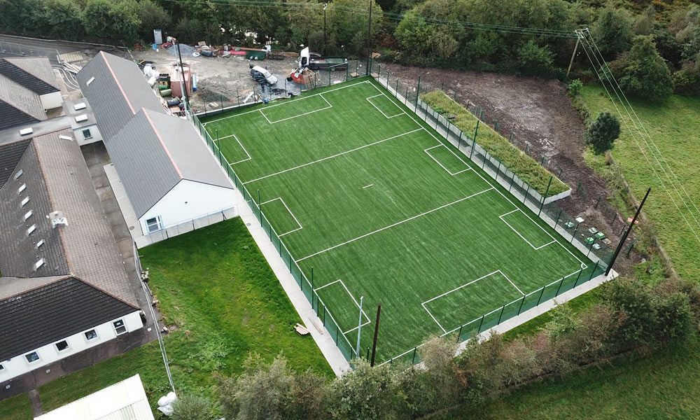 Faha National School artificial grass pitch