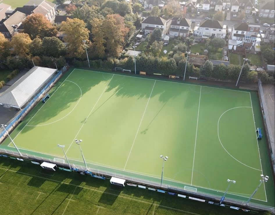 Artificial grass hockey pitch for Gravesham Sports Trust in Kent