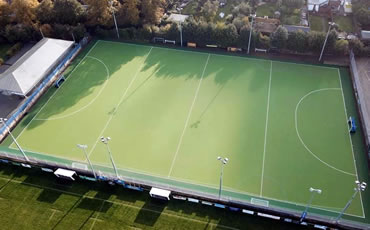artificial grass-hockey pitch