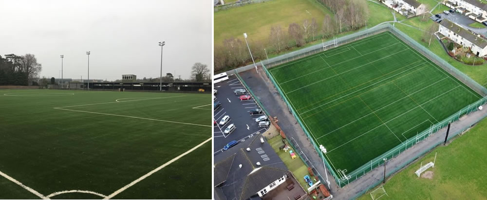 Artificial grass pitch installation projects 2019