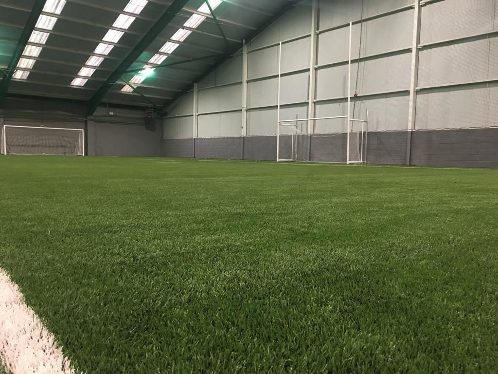Indoor artificial grass pitch