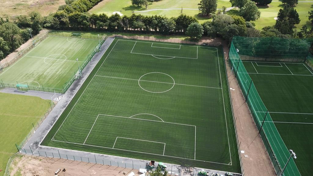 Artificial grass pitch at St Ita's AFC Donabate - 2019 Installation