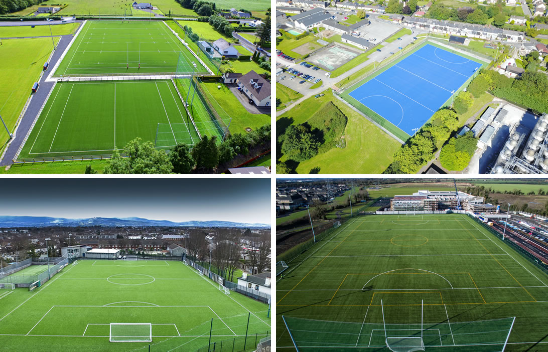 Astro turf pitch projects