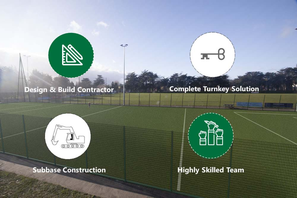astroturf pitch design and planning
