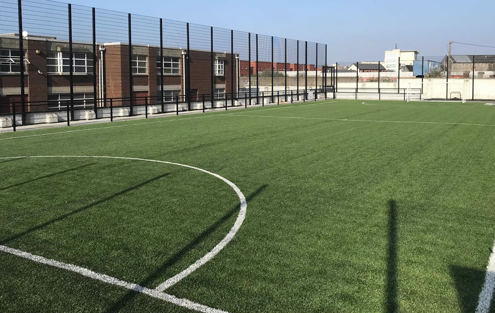 James Street CBS artificial grass pitch