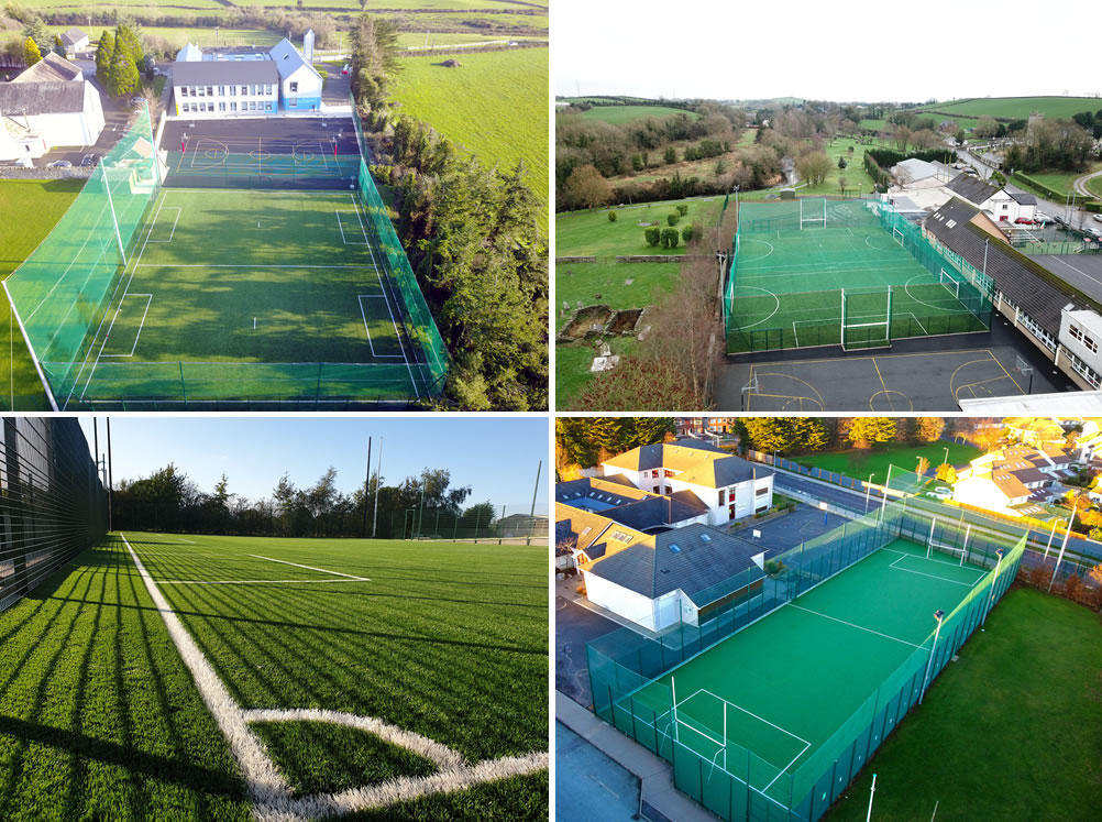 Artificial grass pitches for primary schools