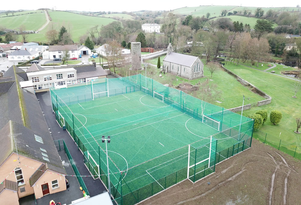 sports fencing and netting for all weather pitch