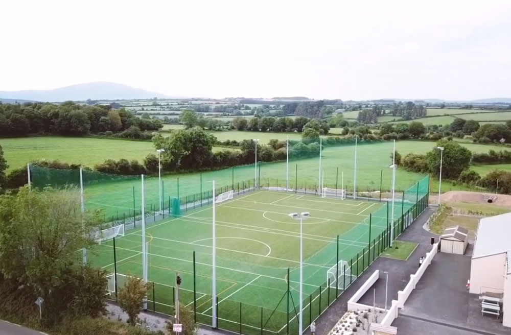 sports fencing and netting for astroturf pitch