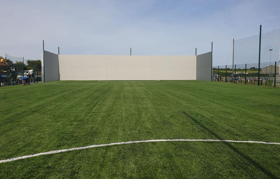 Ballyduff GAA ball wall