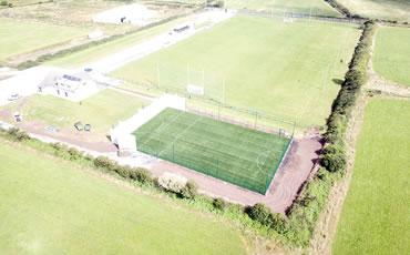 Ballyduff GAA artificial grass hurling pitch