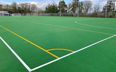 Carmarthen Leisure Centre artificial grass hockey pitch
